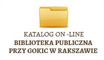 Katalog on-line Biblioteka Pbuliczna Przy GOKIC wRakszawie